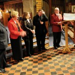 Cheque presentation to Firefighter's Charity